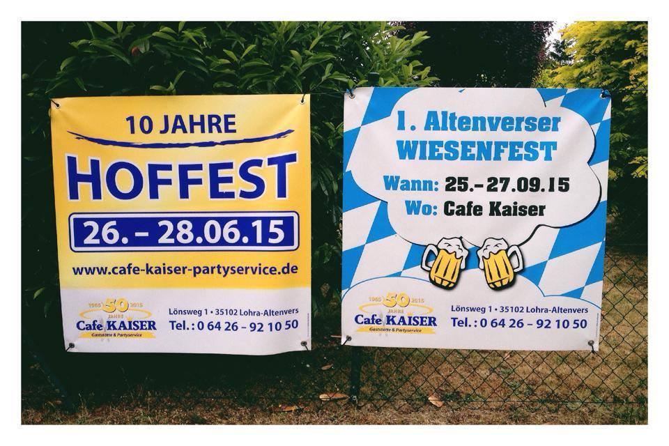 Ihre Druckerei Für Banner Und Fahnen Marburg Gießen